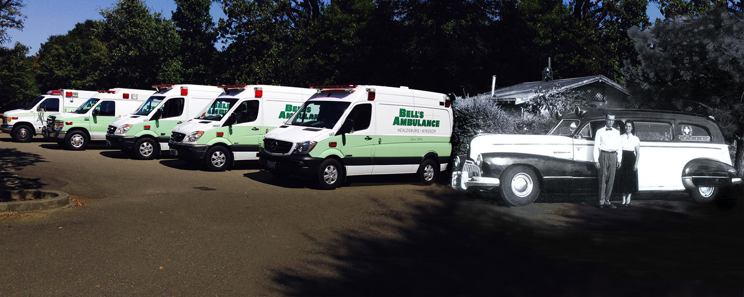 Bell's Ambulance Services - Serving Healdsburg, Windsor